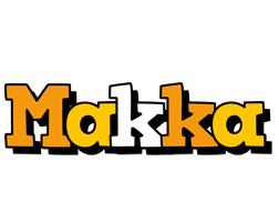 Makka cartoon logo