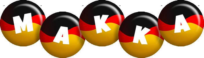 Makka german logo