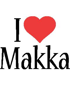 Makka i-love logo