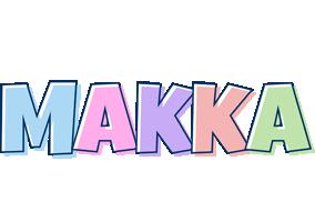 Makka pastel logo