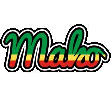 Mako african logo