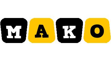 Mako boots logo