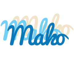 Mako breeze logo