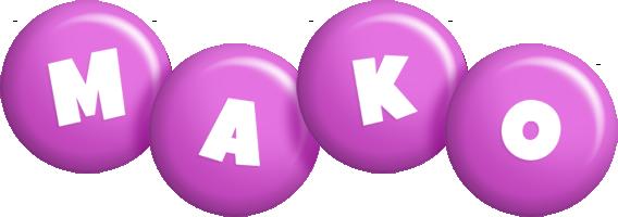 Mako candy-purple logo