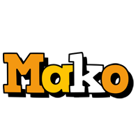 Mako cartoon logo