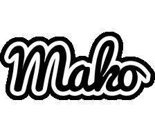 Mako chess logo