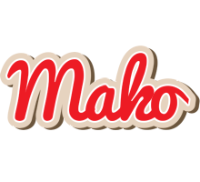 Mako chocolate logo
