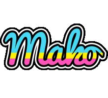 Mako circus logo