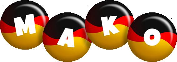 Mako german logo