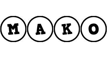 Mako handy logo
