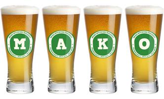 Mako lager logo