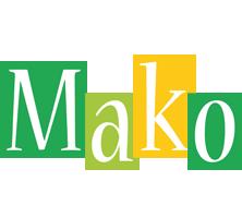 Mako lemonade logo
