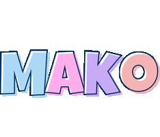 Mako pastel logo