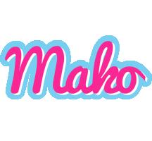 Mako popstar logo