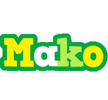 Mako soccer logo