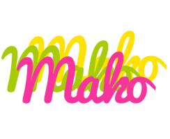 Mako sweets logo