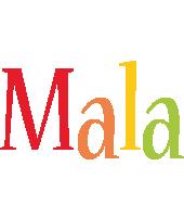 Mala birthday logo