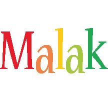 Malak birthday logo
