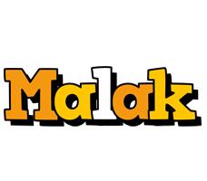 Malak cartoon logo