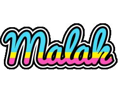 Malak circus logo