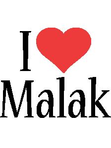Malak i-love logo