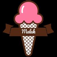 Malak premium logo