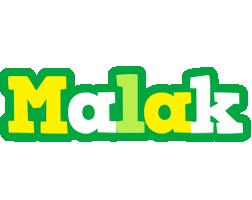 Malak soccer logo