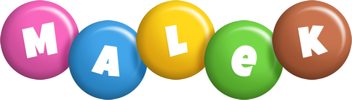 Malek candy logo