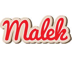 Malek chocolate logo