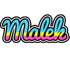 Malek circus logo