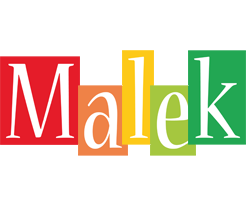 Malek colors logo