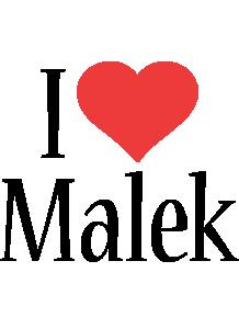 Malek i-love logo