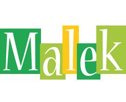 Malek lemonade logo