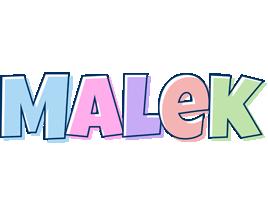 Malek pastel logo