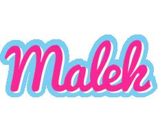 Malek popstar logo