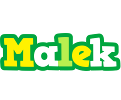 Malek soccer logo