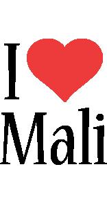Mali i-love logo
