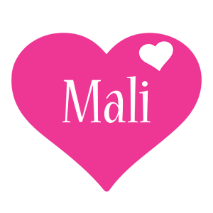 Mali love-heart logo