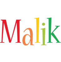 Malik birthday logo