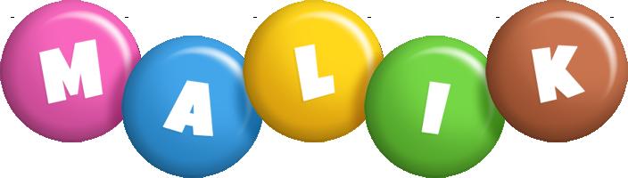 Malik candy logo
