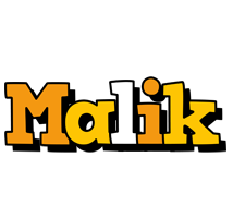 Malik cartoon logo