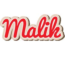 Malik chocolate logo
