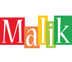 Malik colors logo