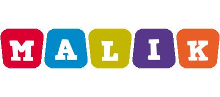 Malik daycare logo