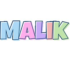 Malik pastel logo