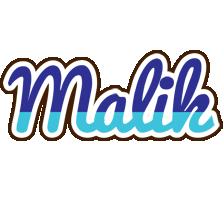 Malik raining logo