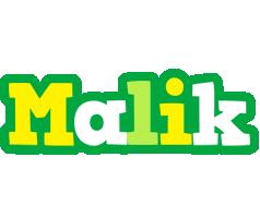 Malik soccer logo
