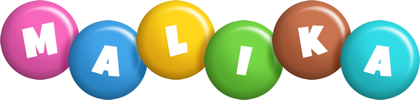 Malika candy logo