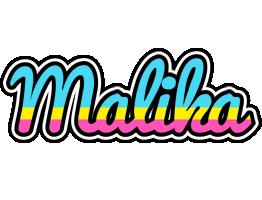 Malika circus logo