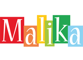 Malika colors logo
